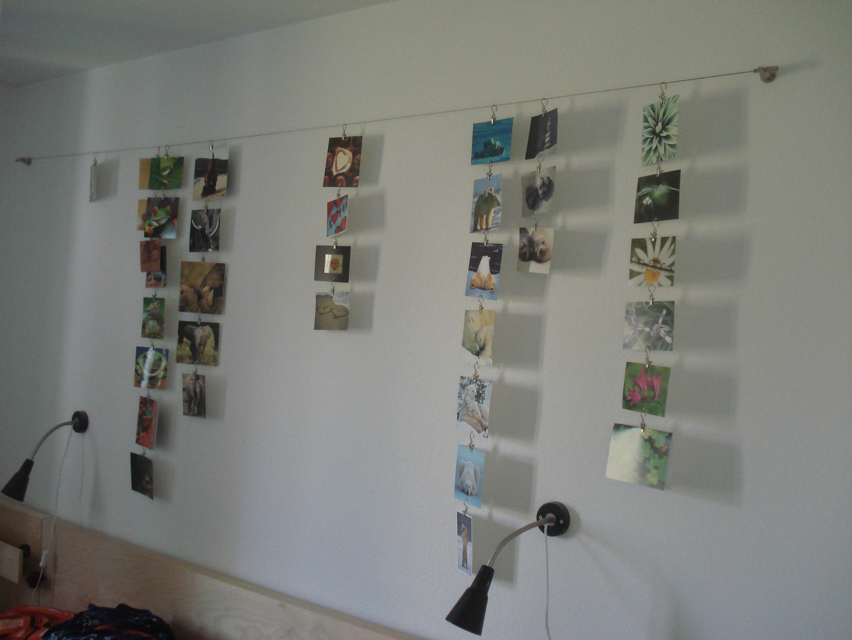 wie kann ich meine fotos an der wand dekorieren seite 2 hallo ihr lieben ich hab mir. Black Bedroom Furniture Sets. Home Design Ideas